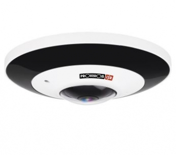 TEL. DOME IP FISHEYE 6 MPX POE