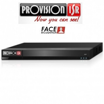 NVR 416CH H265 8MPX FACE RECOGNITION