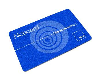 CARD TRASPONDER NICE SINGOLO