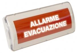 PANNELLO EVACUAZIONE SERIALE A
