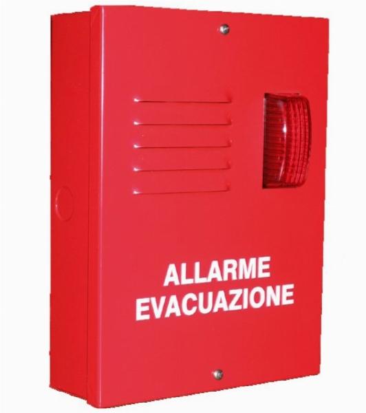 SIRENA EVACUAZIONE RS485