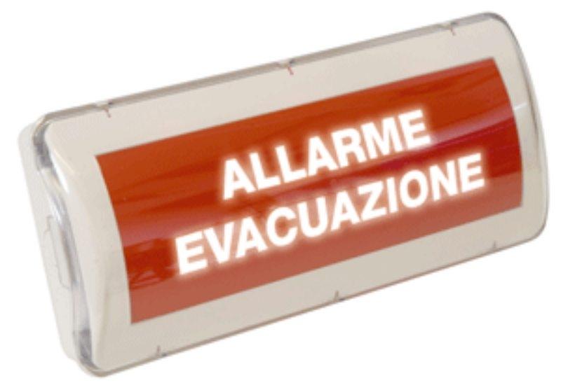 PANNELLO ALLARME EVAC. 220V