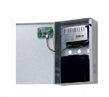 ALIMENTATORE IN BOX 13.8VDC 3A CON AMPEROMETRO A LED