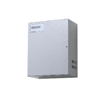 ALIMENTATORE IN BOX 13.8 VDC 5A CON AMPEROMETRO A LED