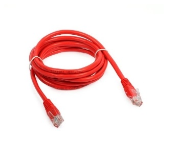 PATCH CORD RJ45 CAT5E O,5M ROSSA