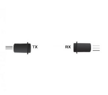 FOTOCELLULA CON SONDE TX-RX+AMPLIFICATORE 12V-24V