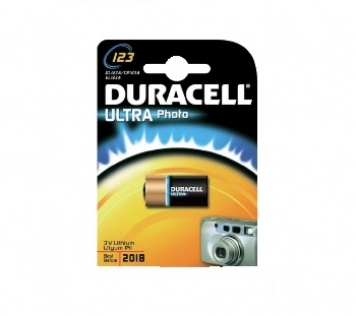 DURACELL ULTRA LITIO FOTO CR123