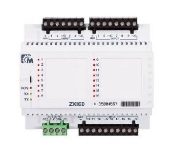 ZX8D MOD.DIN.ESP.8 ZONE