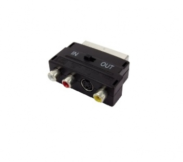 ADATTATORE RCA-SCART IN-OUT