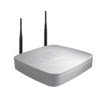 NVR 4 IP 80Mbps 1HDD Wifi
